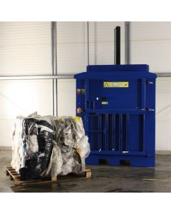 medium waste baler, waste management, recycling